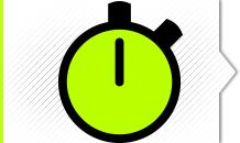 O tempo da atividade pode ser adequado de acordo com a necessidade do cliente.